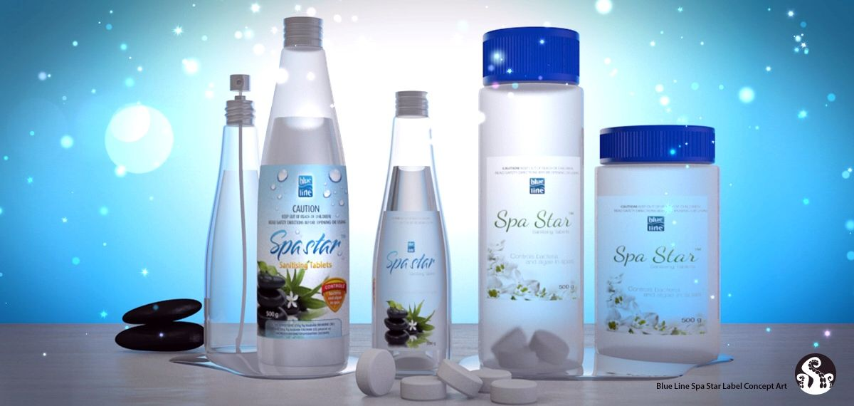 BioGuard Spa 3D Concept Packaging