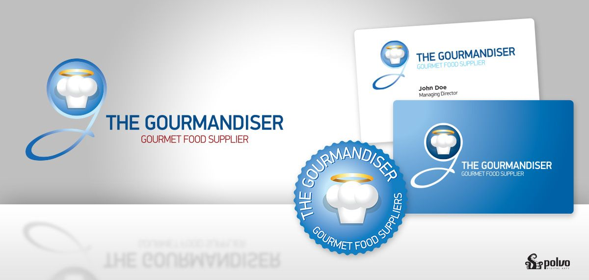 The Gourmandiser Visual ID