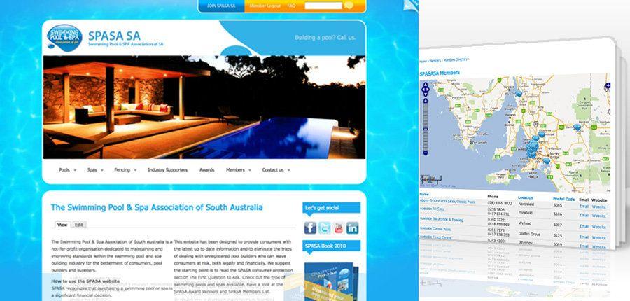 SPASA SA CMS Website