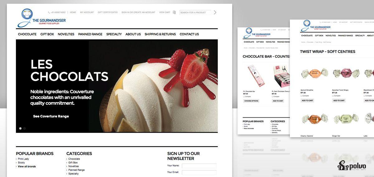The Gourmandiser online shop